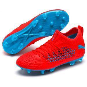 Puma FUTURE 19.3 NETFIT FG AG JR piros 5.5 - Fiú futballcipő