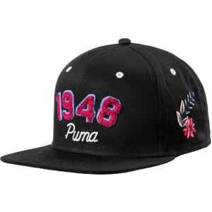 Puma PREMIUM ARCHIVE CAP fekete UNI - Női baseball sapka