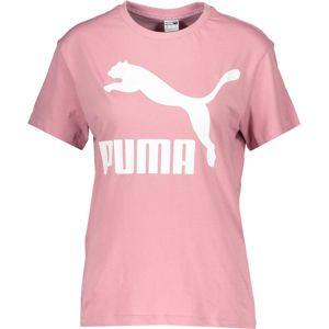 Puma classic Rövid ujjú póló - Rózsaszín - XS