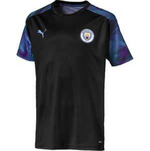Puma manchester city training shirt kids Póló - Fekete - 140