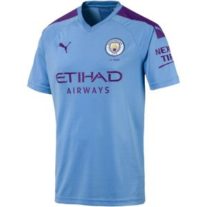 Puma MCFC HOME Shirt Replica SS with Sponsor 2019/20 Póló - Kék - XXL