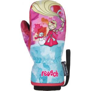 Reusch FRANCI R-TEX XT MITTEN rózsaszín 5 - Gyerek téli kesztyű