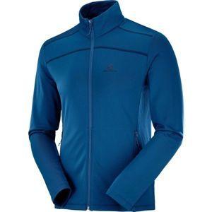 Salomon DISCOVERY LT FZ M - Férfi outdoor pulóver
