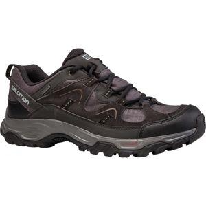 Salomon FORTALEZA GTX fekete 12.5 - Férfi gyalogló cipő