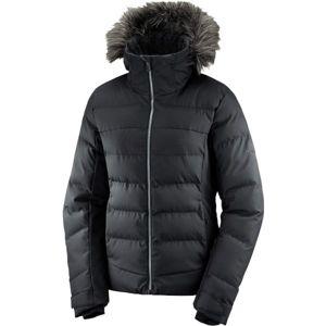 Salomon STORMCOZY JKT W fekete XL - Női télikabát