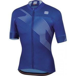 Sportful BODYFIT TEAM 2.0 FASTER kék XXL - Kerékpáros mez