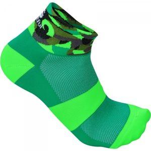 Sportful PRIMAVERA W 3 SOCK zöld S/M - Női kerékpáros zokni