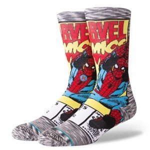 Stance STANCE SPIDERMAN COMIC GREY Zoknik - szürke