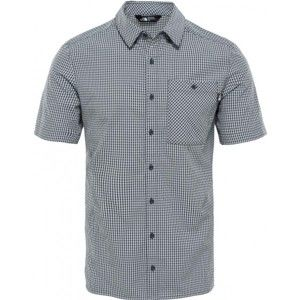 The North Face S/S HYPRESS SHIRT M fekete M - Férfi ing