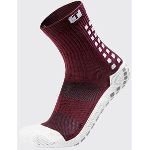Trusox CRW300 Mid-Calf Thin Burgundy Zoknik - bordó