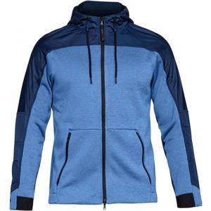 Under Armour UA COLDGEAR SWACKET kék XL - Férfi pulóver