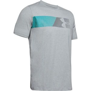 Under Armour FAST LEFT CHEST 2.0 SS szürke M - Férfi póló