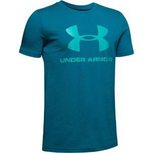 Under Armour SPORTSTYLE LOGO SS - Fiú póló