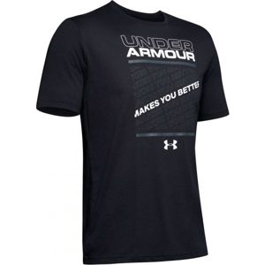 Under Armour MAKES YOU BETTER fekete XL - Férfi póló