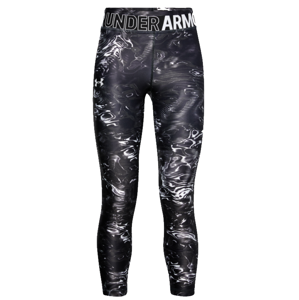 Under Armour Armour Armour HG Printed Crop Nadrágok - Fekete - YMD