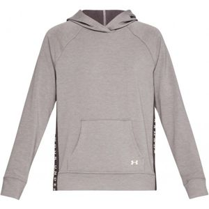 Under Armour FEATHERWEIGHT FLEECE HOODY szürke L - Női sportfelső