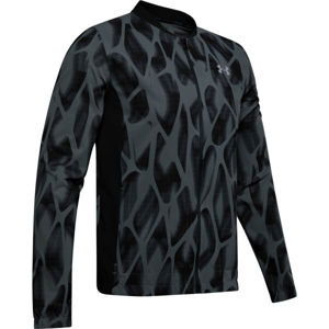 Under Armour LAUNCH 2.0 PRINTED JACKET szürke XL - Férfi kabát