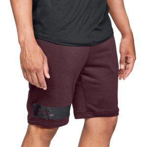 Under Armour MK1 Terry Short Rövidnadrág - Vínová