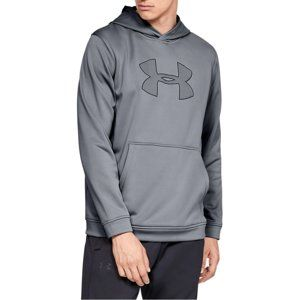 Under Armour PERFORMANCE FLEECE GRAPHIC HOODY Kapucnis melegítő felsők - Szürke - L