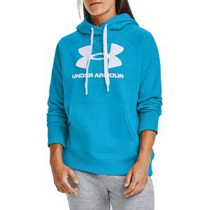 Under Armour Rival Fleece Logo Hoodie Kapucnis melegítő felsők - Kék - XS