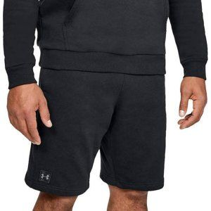 Under Armour RIVAL FLEECE SHORT Rövidnadrág - Fekete - XL
