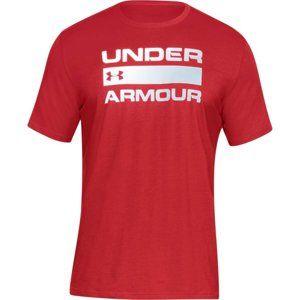 Under Armour Team Issue Wordmark Rövid ujjú póló - piros