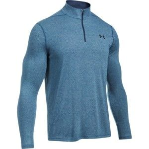 Under Armour THREADBORNE FITTED 1/4 ZIP kék XL - Férfi pulóver
