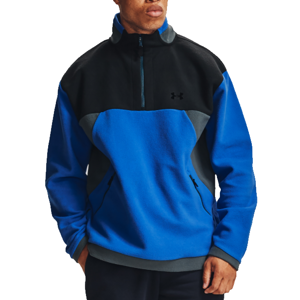 Under Armour UA Recover Fleece 1/4 Zip-BLU Melegítő felsők - Kék - L