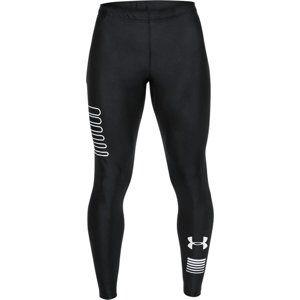 Under Armour UA RUN GRAPHIC TIGHT Nadrágok - fekete