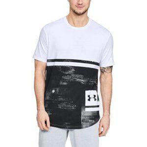 Under Armour UA Sportstyle Print SS Rövid ujjú póló - fehér