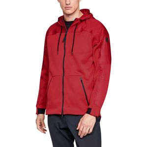Under Armour UNSTOPPABLE COLDGEAR SWACKET Kapucnis kabát - Piros - S