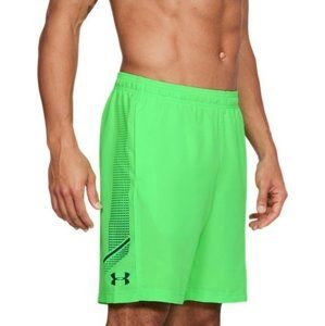 Under Armour Woven Graphic Short Rövidnadrág - zöld