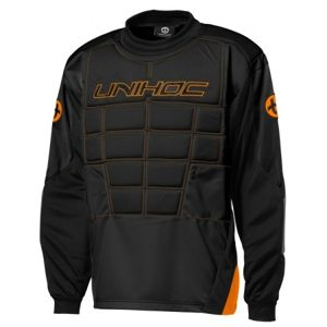 Unihoc GOALIE SWEATER BLOCKER JR  130 - Junior kapus mez