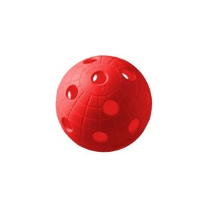 Unihoc BALL CRATER RED   - Floorball labda