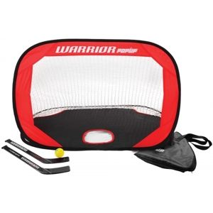Warrior MINI POP UP NET KIT  NS - Jégkorong kapu szett hokibotokkal