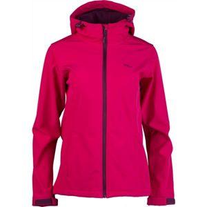 Willard AMBRAMA rózsaszín M - Női softshell kabát