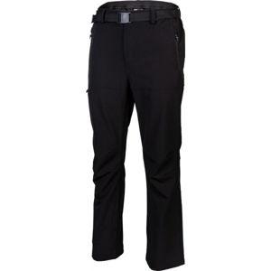 Willard EDGAR fekete M - Fokozottan légáteresztő férfi nadrág, vékony softshellből