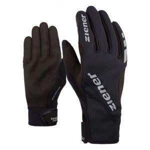 Ziener UMANI GWS PR BLACK fekete 11 - Sífutó kesztyű